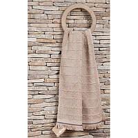 Махровое полотенце хлопок/эвкалипт  50х90 Buldans Selcuk Beige