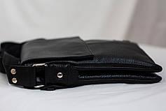 Кожаная мужская сумка Philipp Plein 24*18, фото 3