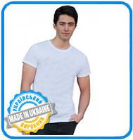 Двухслойная футболка для сублимации мужская от производителя Украина