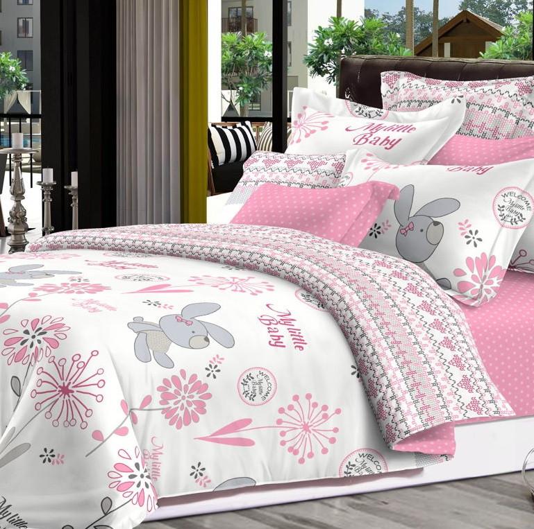Детский комплект постельного белья Home Line Сатин 110х147 Сонька