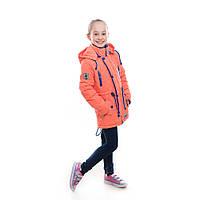 """Детская куртка демисезонная для девочки """"Жаклин"""", 5-10 лет"""