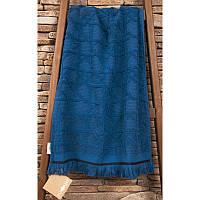Махровое полотенце хлопок/эвкалипт  50х90 Buldans Selcuk denim