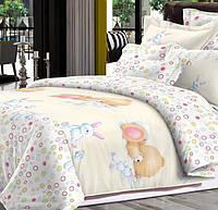 Детский комплект постельного белья Home Line Сатин 110х147 Весёлые сны