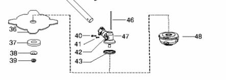 Установка ножа на бензокосу Хускварна 128 r