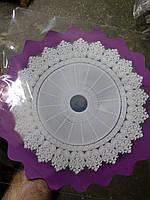 Салфетки для цветов диаметр 30 см