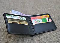 Карманный кошелек из натуральной кожи ручной работы