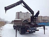 "Услуги крана-манипулятора MAN 10 тонн, аренда в Кривом Роге - ФЛП ""Иванов В.В."""