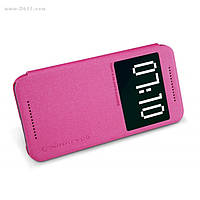 Чехол Nillkin Sparkle Leather Case для HTC ONE M9 Hot Pink