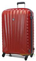 Дорожный чемодан из поликарбоната на 4-х колесах (средний) Roncato Uno Zip 5082 красного цвета