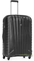 Дорожный чемодан из поликарбоната на 4-х колесах (средний) Roncato Uno Zip 5082 серого цвета