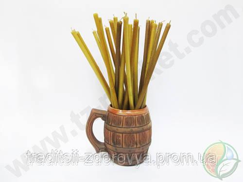 Свечи церковные восковые №20 из натурального воска, свечи восковые