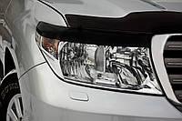 Накладки на передние фары (реснички) Toyota LC 200 2007-2011 г.в.