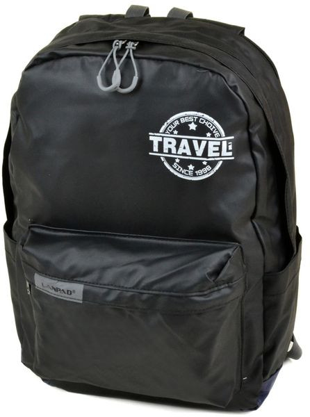 Городской удобный рюкзак 10 л. Lanpad 1718 black Черный