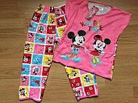Пижамы для девочек 4-9 лет .разные цвета и рисунки