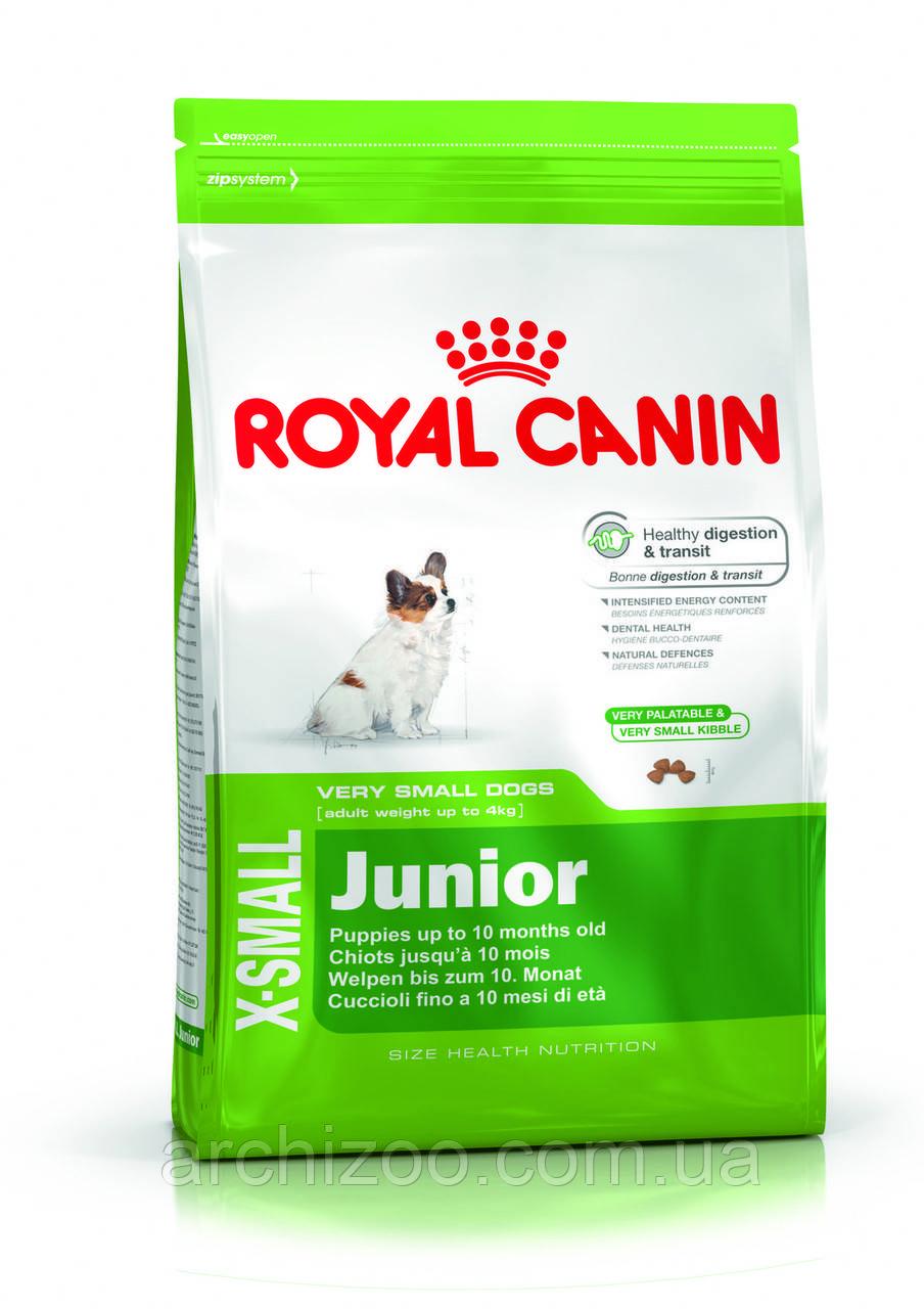 Royal Canin X-Small Junior 14кг для щенков миниатюрных пород до 10 месяцев