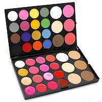 Палитра для макияжа МАС (5-в-1: тени, румяна, контуры, консилеры, помады)