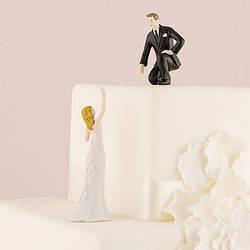 Свадебные статуэтки жениха и невесты на  торт 1016 купить в Киеве
