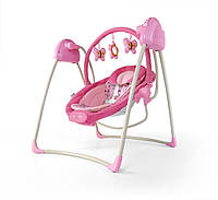 Детское Кресло качеля Milly Mally шезлонг Sweet Dreams Pink Польша