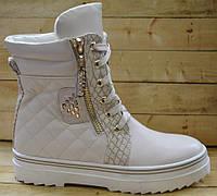 Демисезонные ботинки для девочки размер 33-38