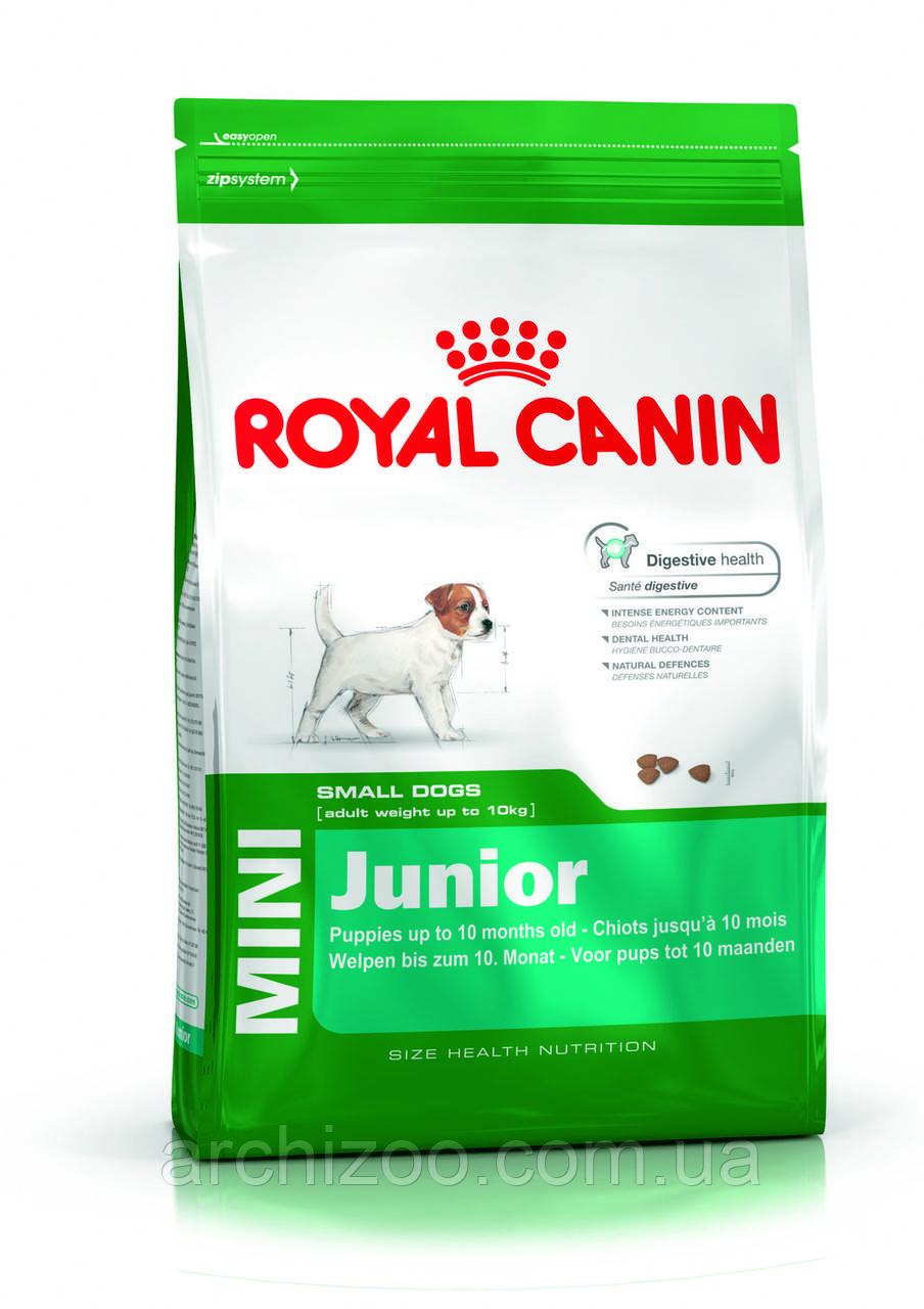 Royal Canin Mini Junior 17кг для щенков мелких пород от 2 до 10 м-цев