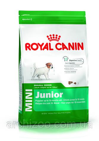 Royal Canin Mini Junior 17кг для щенков мелких пород от 2 до 10 м-цев, фото 2