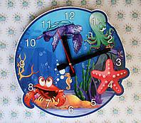 Часы настенные Морские звёздочки