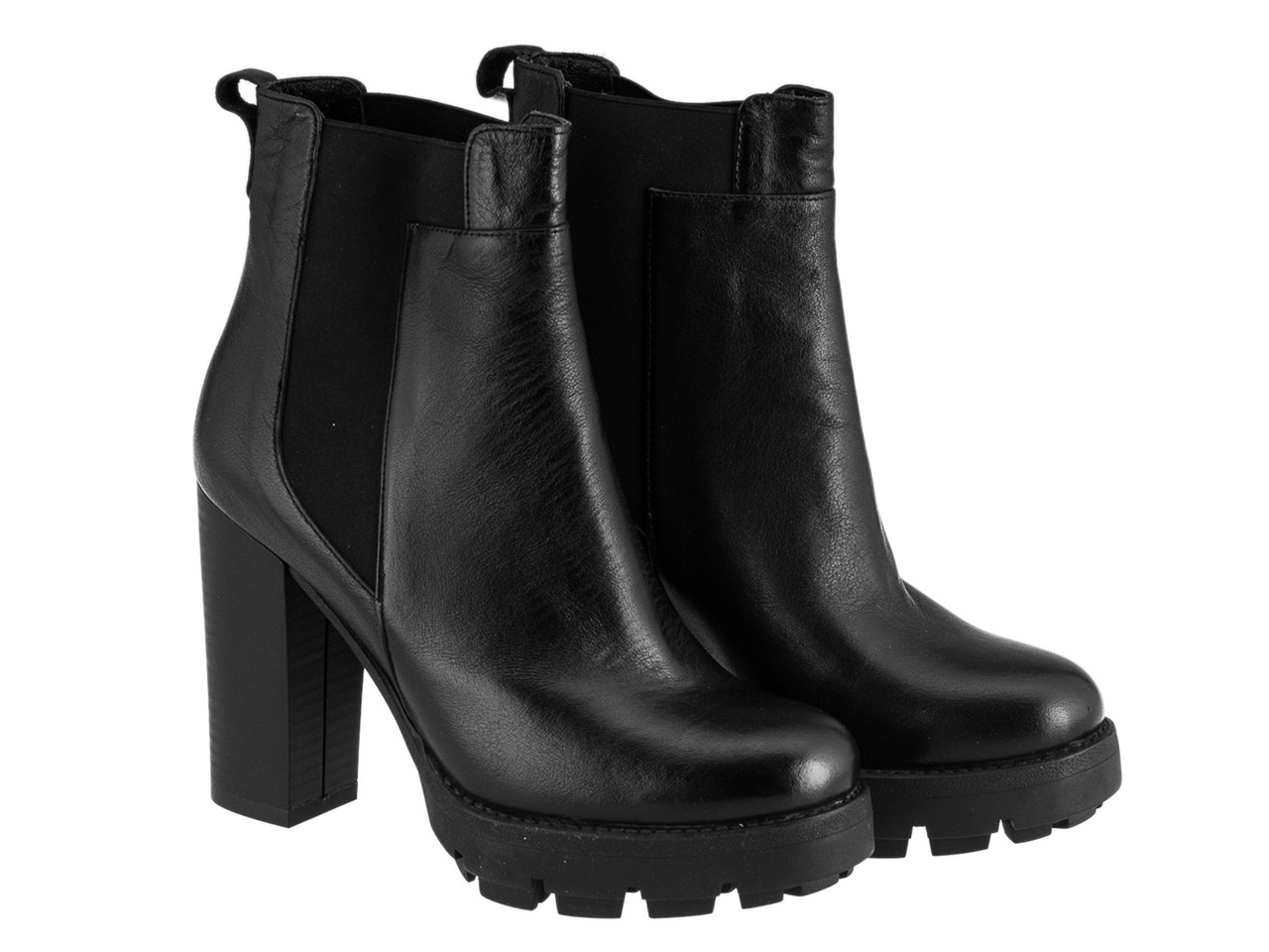 Ботинки Etor 5728-07295 черные