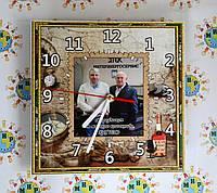 Часы Настенные с вашими фотографиями для мужчин