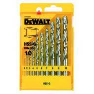 Набор сверл по металлу Dewalt HSS-G 1-10mm (DT5921)