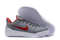 Мужские баскетбольные кроссовки Nike Kobe 12 AD (Grey/Red/White) , фото 1