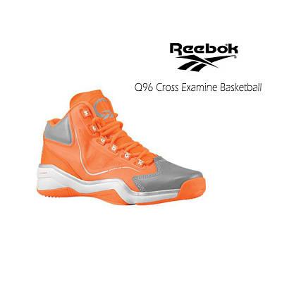 Мужские кроссовки Reebok Men's Q96 Cross Examine Basketball Original Orange