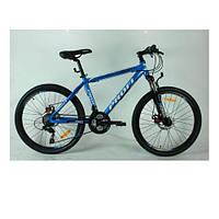 Горный велосипед MTB 24 дюйма PROFI - KID G24A316-2  (синий) на алюминиевой раме