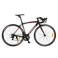 Шоссейный велосипед 28 CITY (черный)