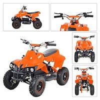 Двухместный детский квадроцикл Profi HB-EATV 800C-7 (Оранжевый)