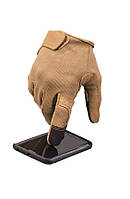 Тактические сенсорные перчатки Dark Coyote. Mil-tec (Германия) XXL