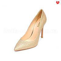 Женские туфли золотистый песок Basconi