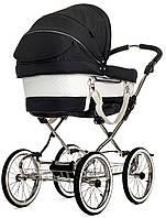 Детская Универсальная коляска-трансформер Mondial de Luxe Duo Combi LOUNGE BLACK - Emmaljunga Швеция модульная