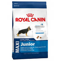 Royal Canin Maxi Junior для щенков крупных пород до 15 месяцев