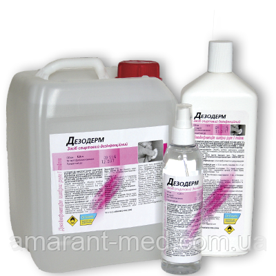 Дезодерм 0,5 л дозатор