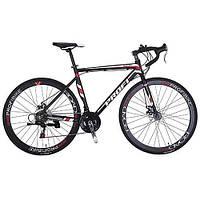 Велосипед 28д. E51ROAD 700C-3 Алюминиевая рама