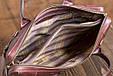 Кожаная мужская деловая сумка Blamont 006 коричневая, фото 6