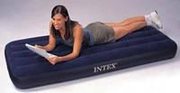 Матрас надувной INTEX велюр синий 76х193х22см. 68950