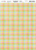 """Бумага для дизайна """"Дыхание весны 4"""", 21*29,7 см, 250 г/м2, ROSA Talent, 5311046"""