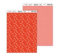 """Бумага для дизайна """"Нежность цветов 1"""", двусторонняя, 21*29,7 см, 250 г/м2, ROSA Talent, 5310017"""