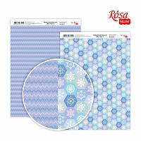 """Бумага для дизайна """"New Year 1"""", двусторонняя, 21*29,7 см, 250 г/м2, ROSA Talent, 5310071"""