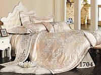 Комплект  постельного белья сатин жаккард Тиара семейный размер 1704