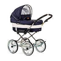 Детская Универсальная коляска-трансформер Mondial de Luxe Duo Combi LOUNGE NAVY - Emmaljunga Швеция модульная