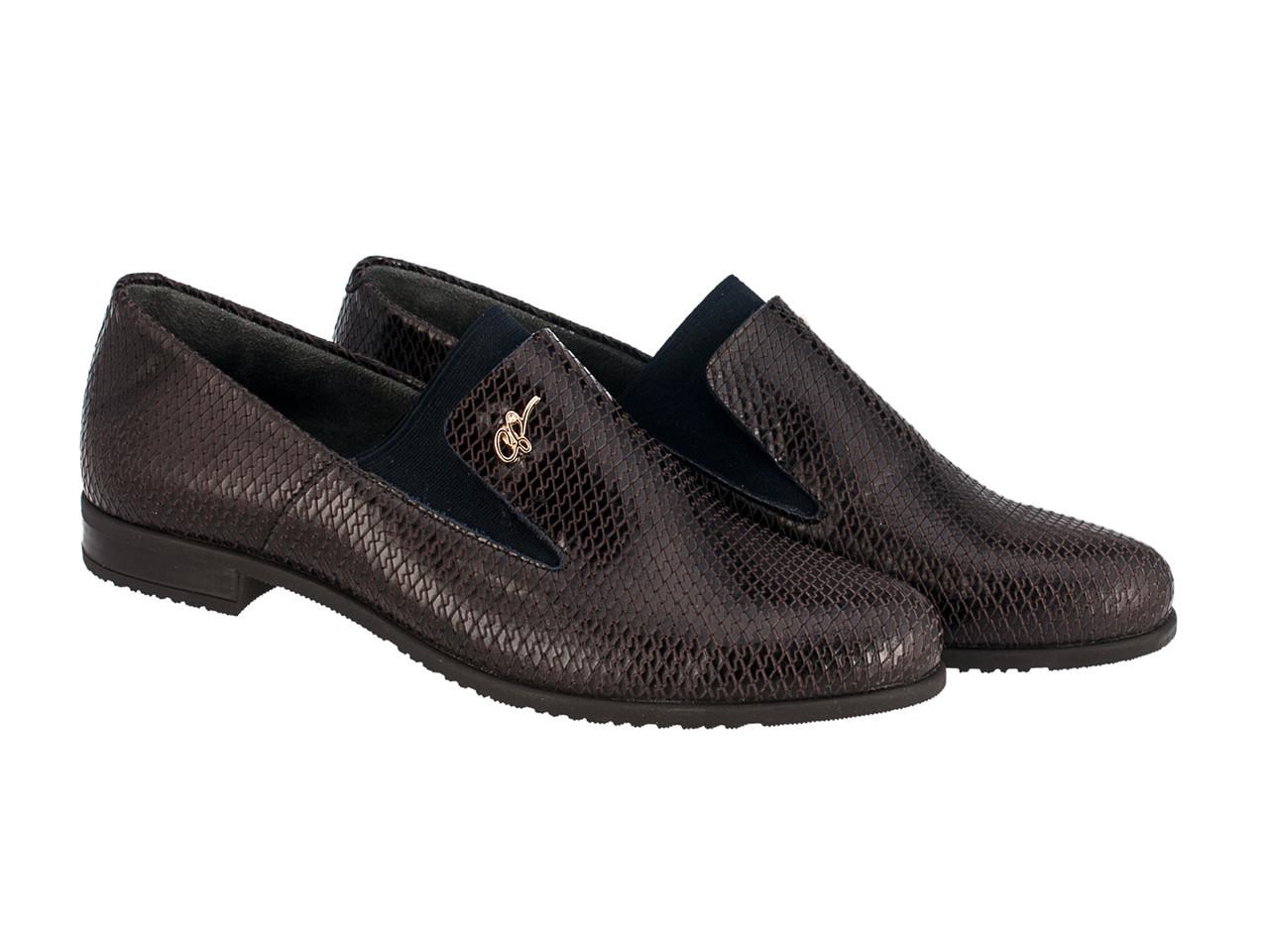 Туфлі Etor 5891-51046-2 39 синій