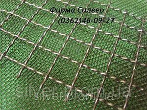 Сетка тканая с квадратными ячейками