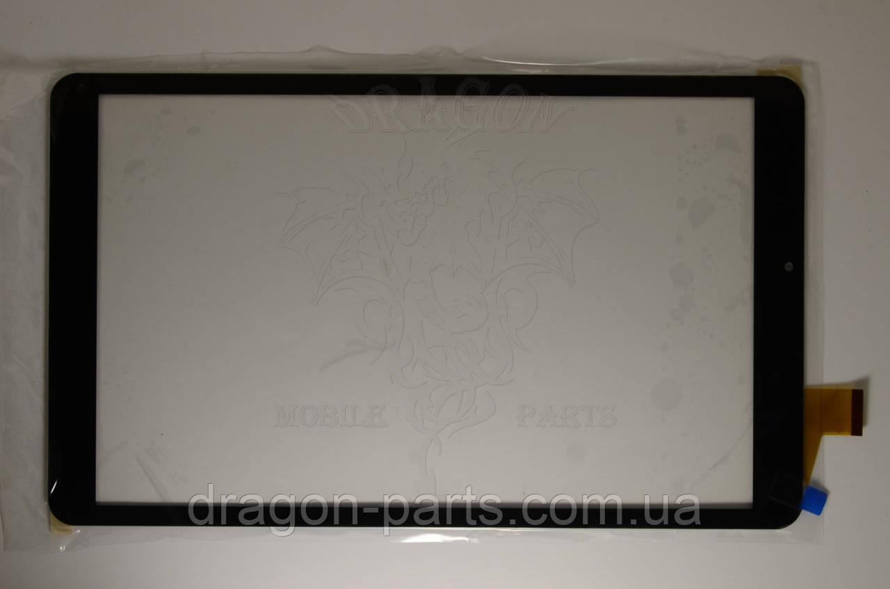 Тачскрін Nomi C10103 Ultra сенсорна панель чорна wj1366-fpc v1.0